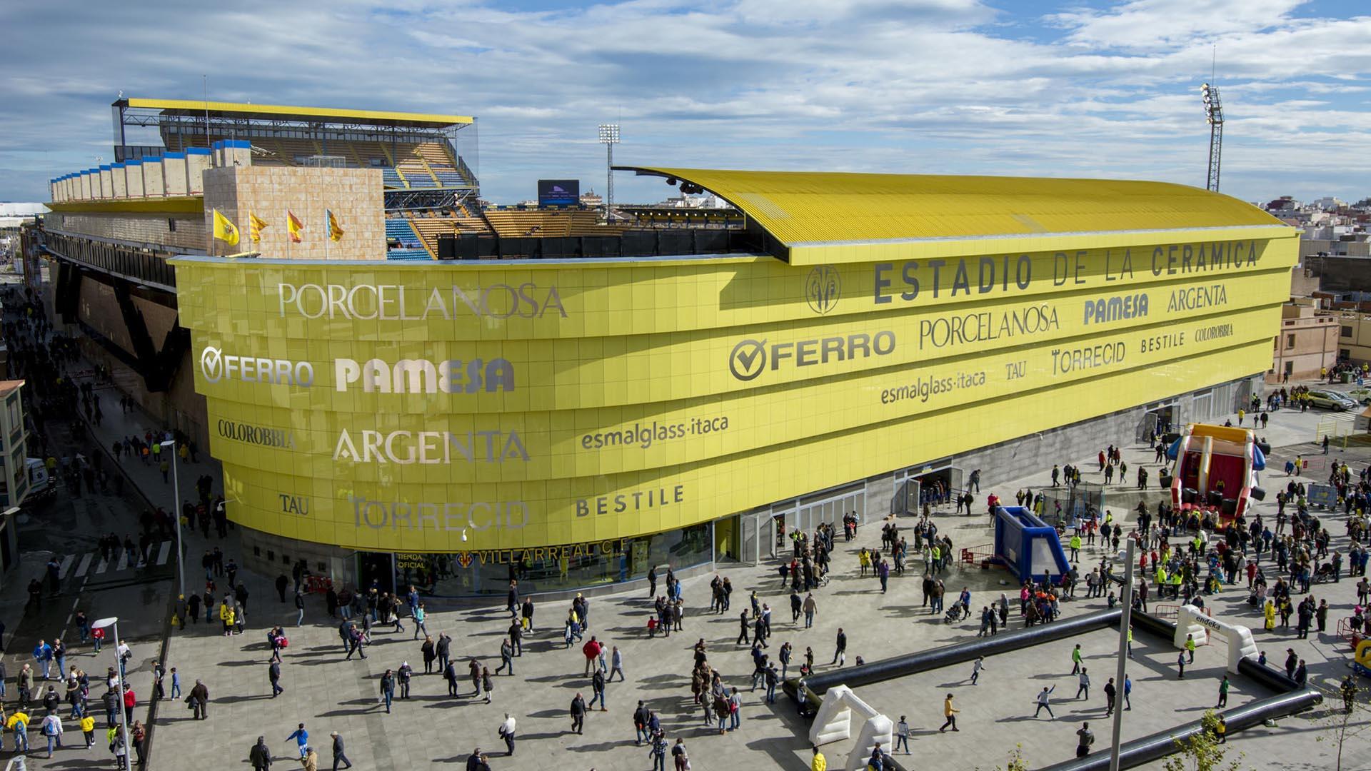 Así luce el Estadio de la Cerámica, la nueva casa del Villarreal CF 0