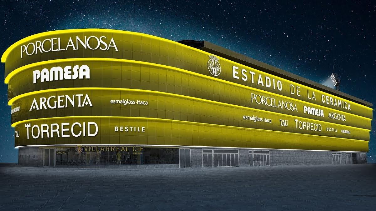 Imagen: Así luce el Estadio de la Cerámica, la nueva casa del Villarreal CF