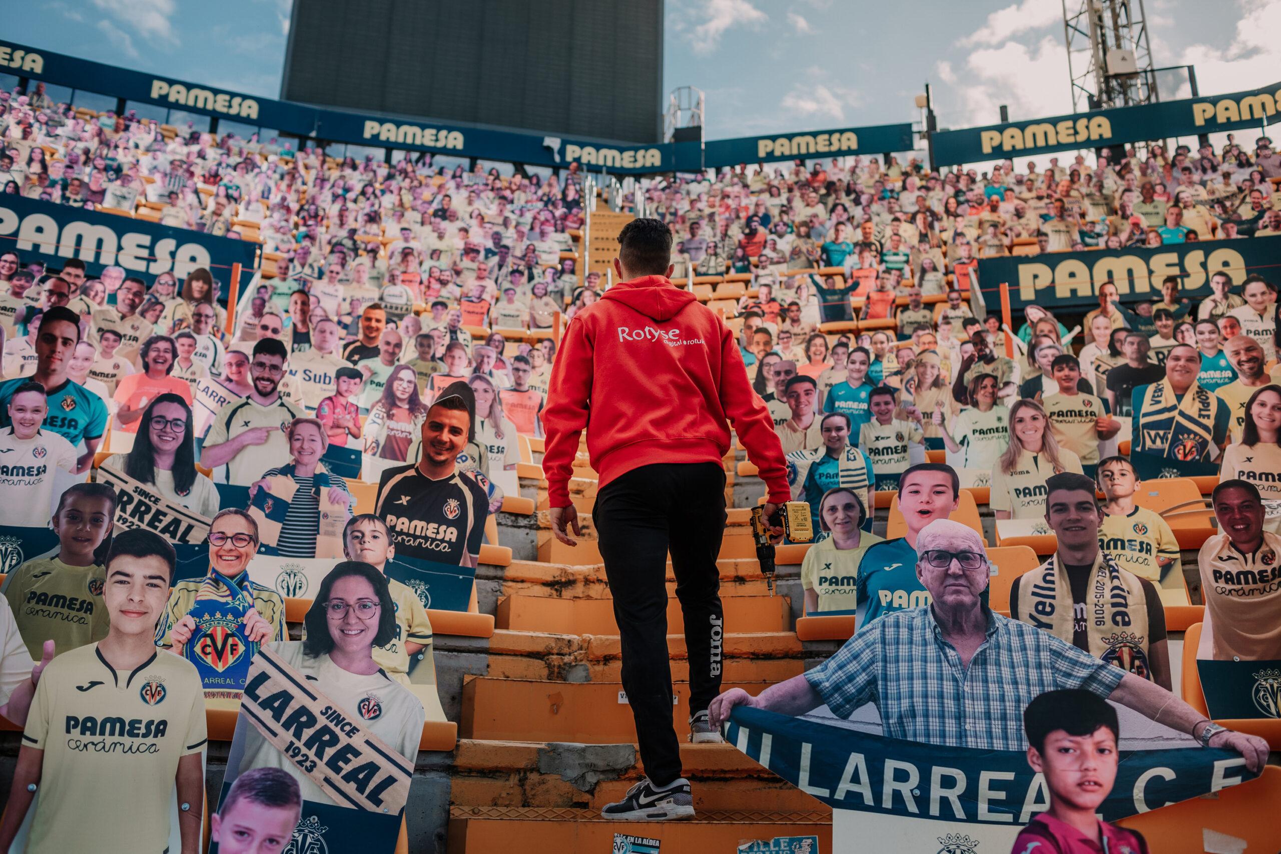 Imagen: Los avatares del Estadio de la Cerámica