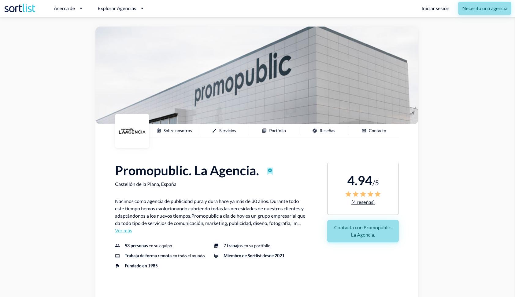 Sortlist y las agencias de marketing: una web para unirlas a todas 0