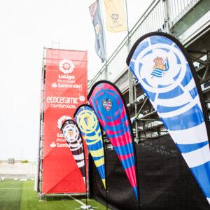 Nos encargamos del branding y el montaje de La Liga Promises, el torneo de fútbol del que salen las estrellas del futuro 21
