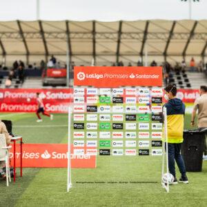 Nos encargamos del branding y el montaje de La Liga Promises, el torneo de fútbol del que salen las estrellas del futuro 15