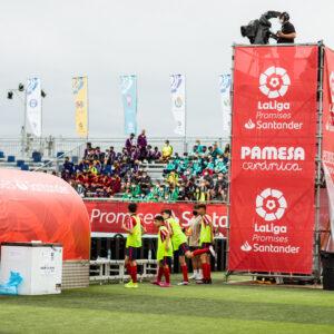 Nos encargamos del branding y el montaje de La Liga Promises, el torneo de fútbol del que salen las estrellas del futuro 11