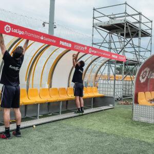 Nos encargamos del branding y el montaje de La Liga Promises, el torneo de fútbol del que salen las estrellas del futuro 16