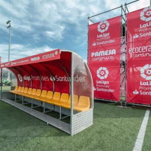 Nos encargamos del branding y el montaje de La Liga Promises, el torneo de fútbol del que salen las estrellas del futuro 8