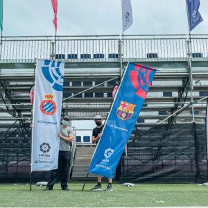 Nos encargamos del branding y el montaje de La Liga Promises, el torneo de fútbol del que salen las estrellas del futuro 23