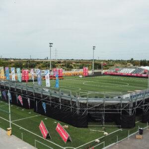 Nos encargamos del branding y el montaje de La Liga Promises, el torneo de fútbol del que salen las estrellas del futuro 24