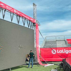 Nos encargamos del branding y el montaje de La Liga Promises, el torneo de fútbol del que salen las estrellas del futuro 9