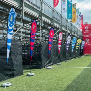 Nos encargamos del branding y el montaje de La Liga Promises, el torneo de fútbol del que salen las estrellas del futuro 25