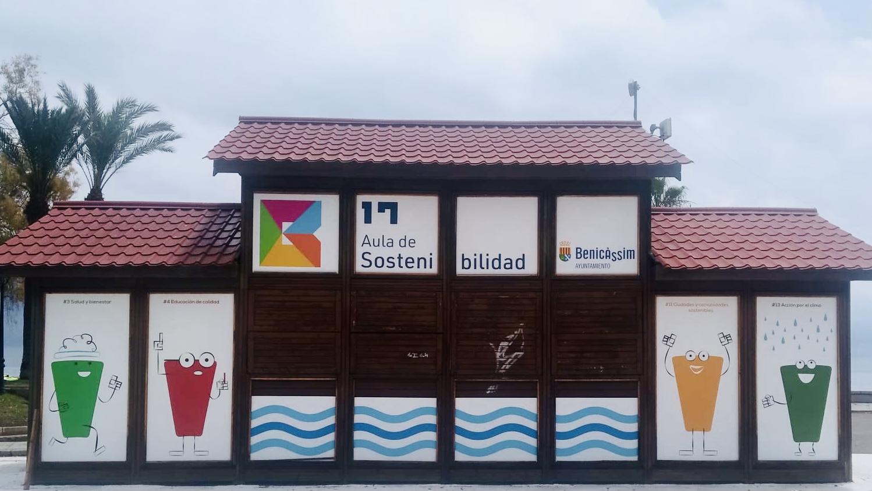 Rotulación de la primera aula junto al mar en Benicàssim para fomentar la educación ambiental 2