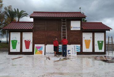 Rotulación de la primera aula junto al mar en Benicàssim para fomentar la educación ambiental