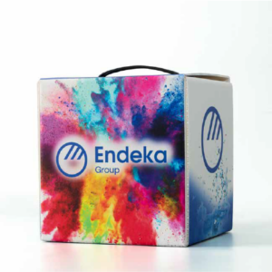 packaging caja endeka promopublic