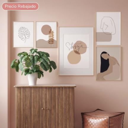 Láminas decorativas para tu casa, ahora con un descuento del 35% en MOTIF 3