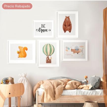 Láminas decorativas para tu casa, ahora con un descuento del 35% en MOTIF 5